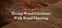 Tips for Mixing Wood Furniture with Wood Flooring | Amish ...