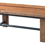 Up To 33 Off Timber Creek Reclaimed Barnwood Coffee Table Amish Outlet Store
