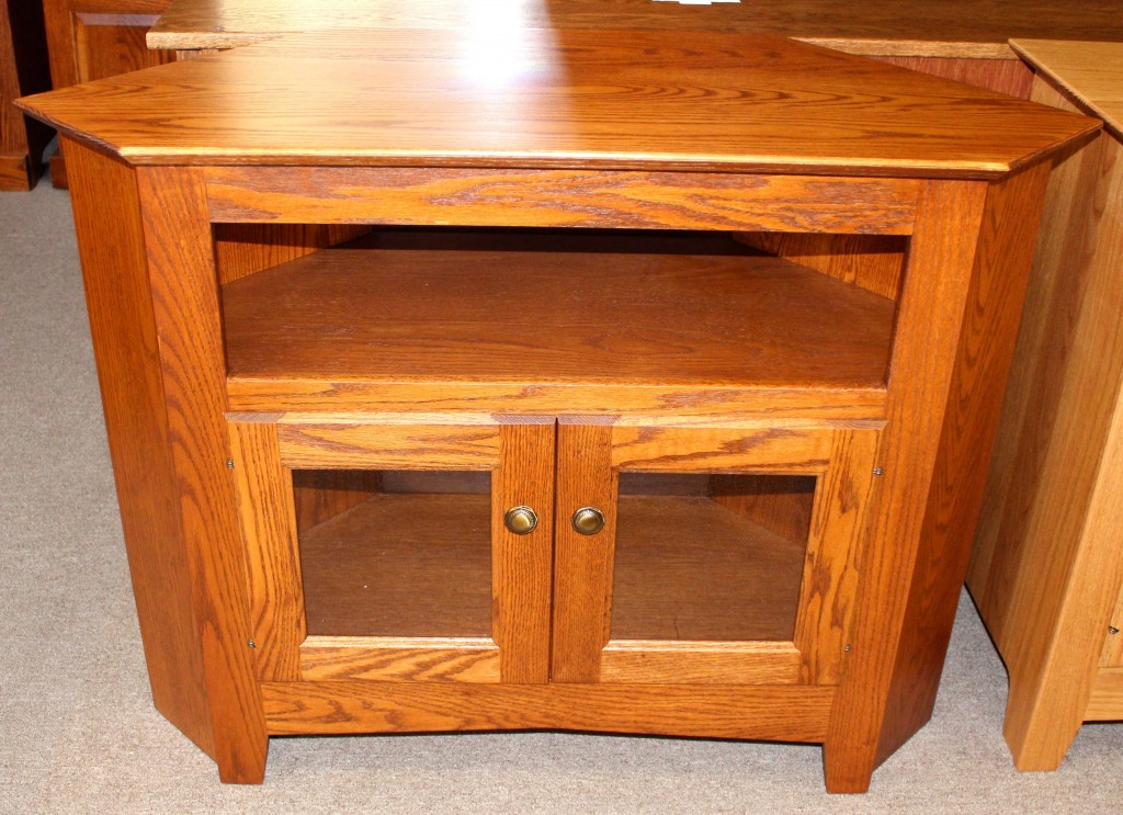 40 Corner TV Stand  Amish Traditions WV