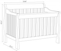 Baby Crib Dimensions | www.pixshark.com - Images Galleries ...