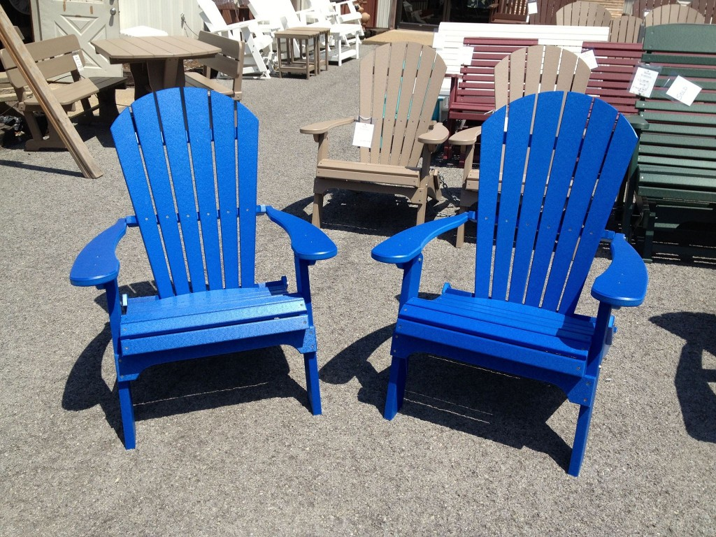 adirondack chairs amish toys r us canada bean bag poly folding chair traditions wv