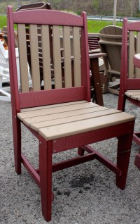 Poly 48 Round Picnic Table Set with 4 Chairs | Amish ...