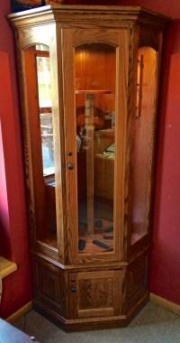 8 Gun Carousel Corner Gun Cabinet | Amish Traditions WV