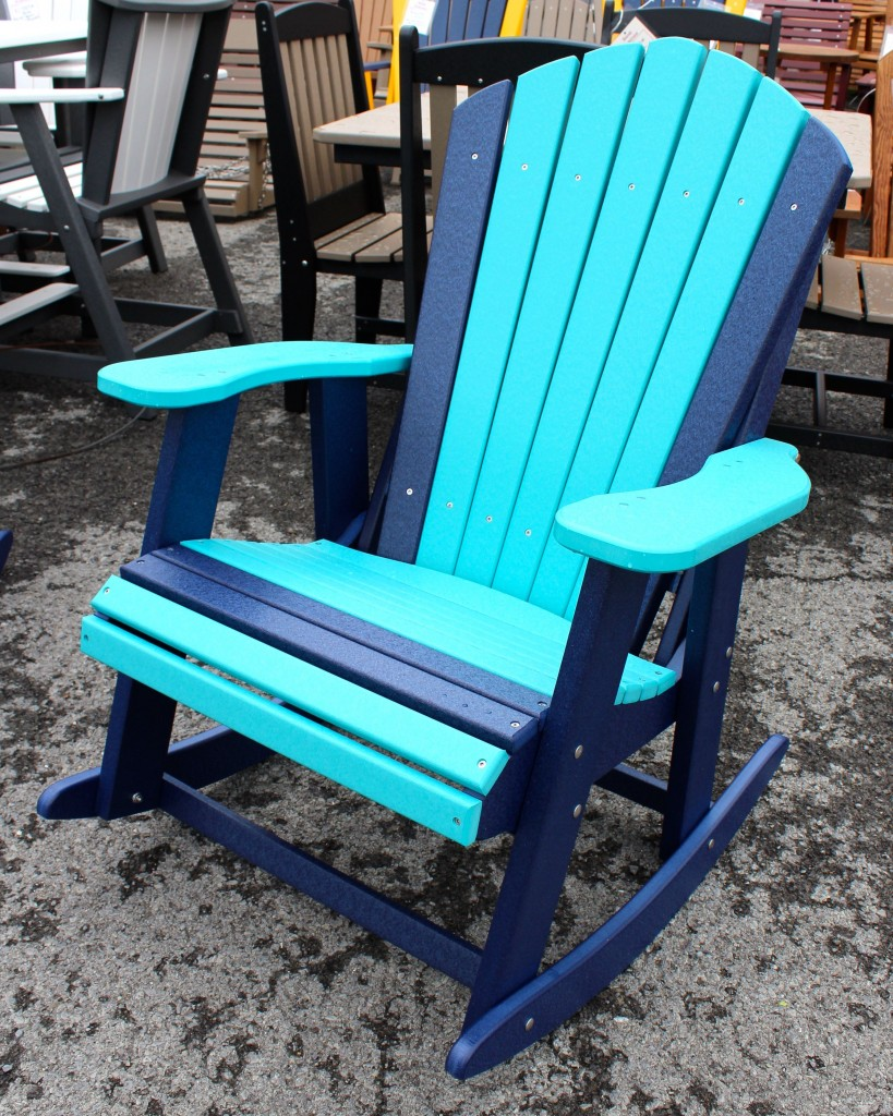 Poly Adirondack Rocking Chair  Amish Traditions WV