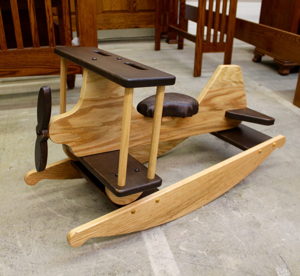 rocking horse chair desk the cheap covers for folding chairs airplane hobby amish traditions wv