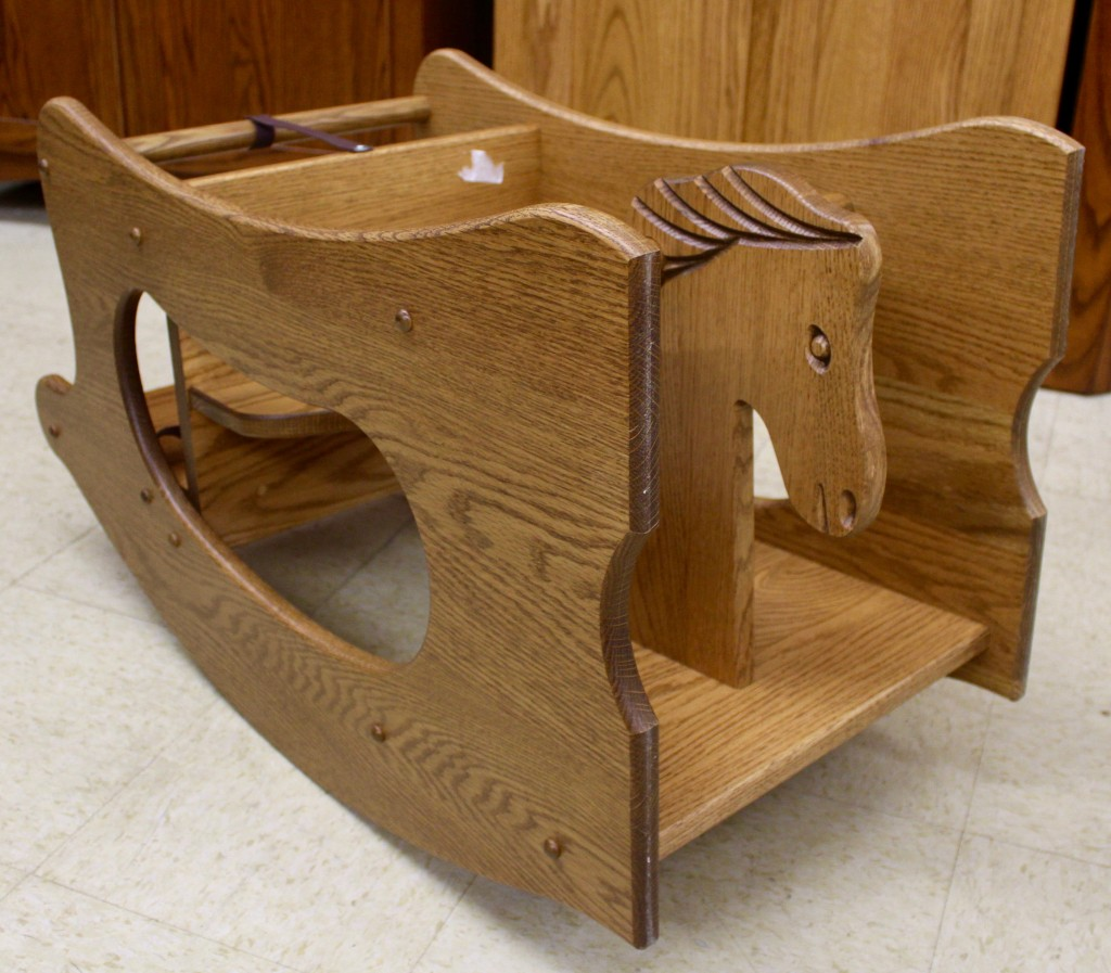 3 In 1 High Chair  Hobby Horse  Desk  Amish Traditions WV