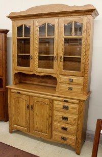 3-Door Hoosier Style Country Hutch   Amish Traditions WV