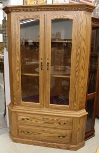 17 Gun Traditional Corner Gun Cabinet | Amish Traditions WV