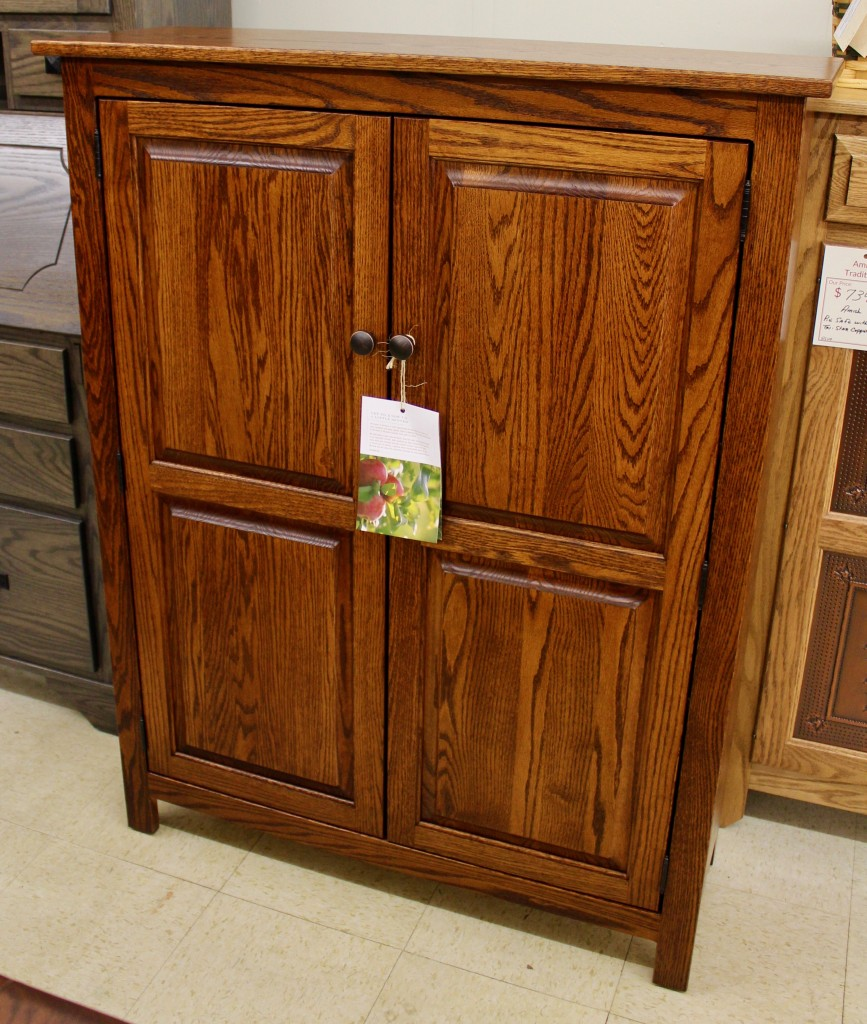 Shaker 2Door Jelly Cabinet  Amish Traditions WV