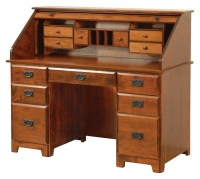 54 Murphy Rolltop Desk | Amish Traditions WV