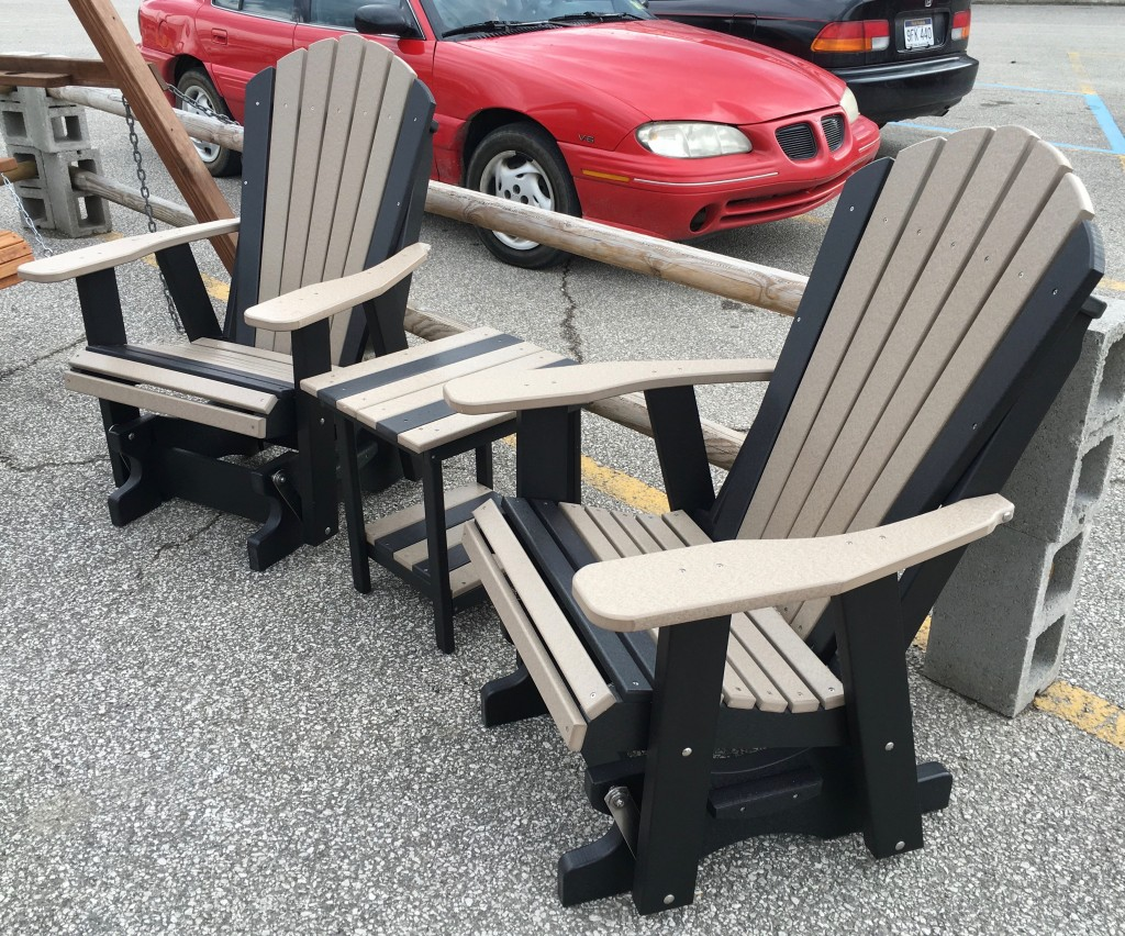 Poly 2 Adirondack Glider Amish Traditions WV