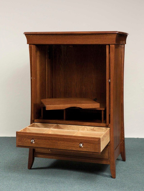 Banbury Collection Entertainment Center Amish Valley