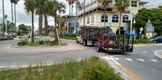 Bradenton Beach roundabout