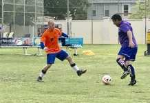 Center adult soccer league
