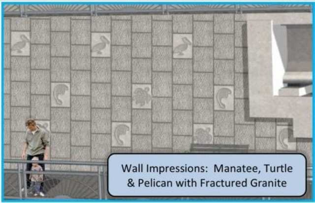 Anna Maria bridge wall impressions