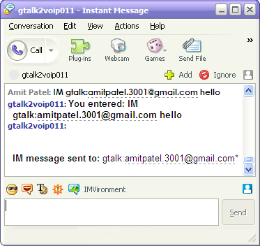 How to chat with Gtalk friends using Yahoo Messenger