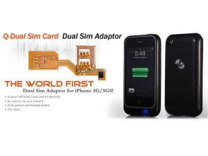 Dual Sim Card iPhone