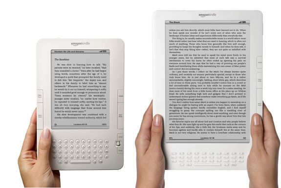 Kindle DX Review and Comparison with Kindle 2