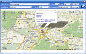 Google Maps Saver