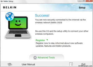 Belkin Router Success Setup