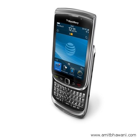 BlackBerry Torch 9810 review Buttoned-up