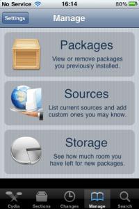 Souces Cydia Application