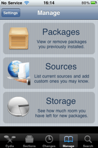 Souces Cydia Application