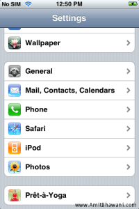 How to take Screenshots in Apple iPhone or iPod Touch