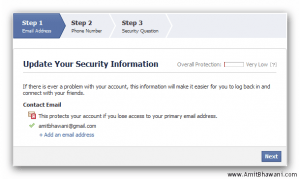 Facebook Account Security