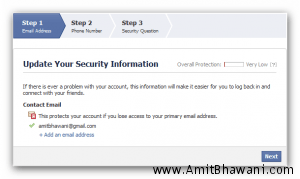 Increase Facebook Account Security