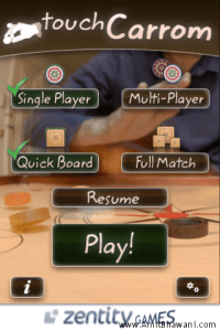 Touch Carrom Game for Apple iPhone – Review