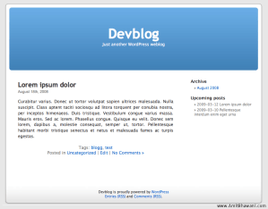 Show Upcoming Future Posts on Blog Sidebar
