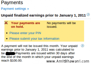 How to Submit Tax Information for Google Adsense Account