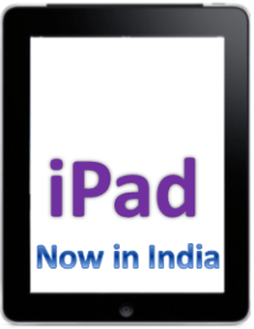 Apple iPad in India Launched with Wifi & 3G Models