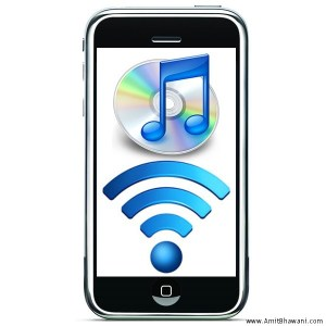 iTunes WiFi Sync