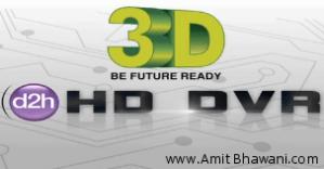 Videocon D2h 3D HD-DVR New Set Top Box Models & Pricing