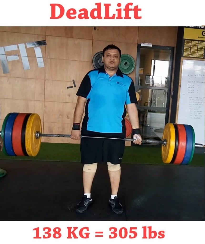 Pinal Dave Deadlift Gym