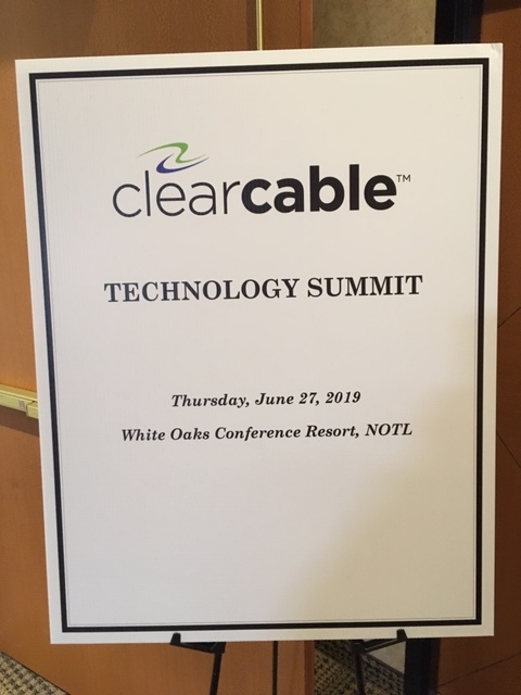 Clearcable Technology Summit Poster