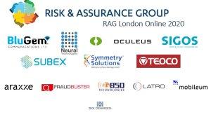 The sponsors of RAG London 2020