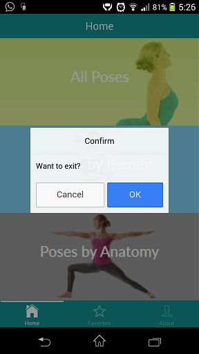 Ionic exit app on hardware back button with confirmation popup