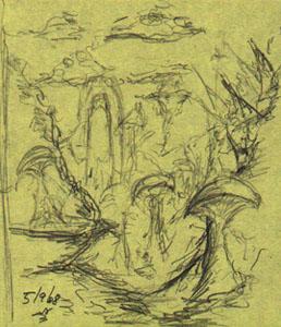 Digital Painting Tutorial sketch