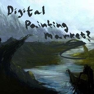 Digital painting market ?