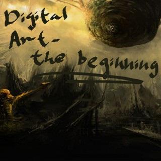 Digital Art - The Beginning