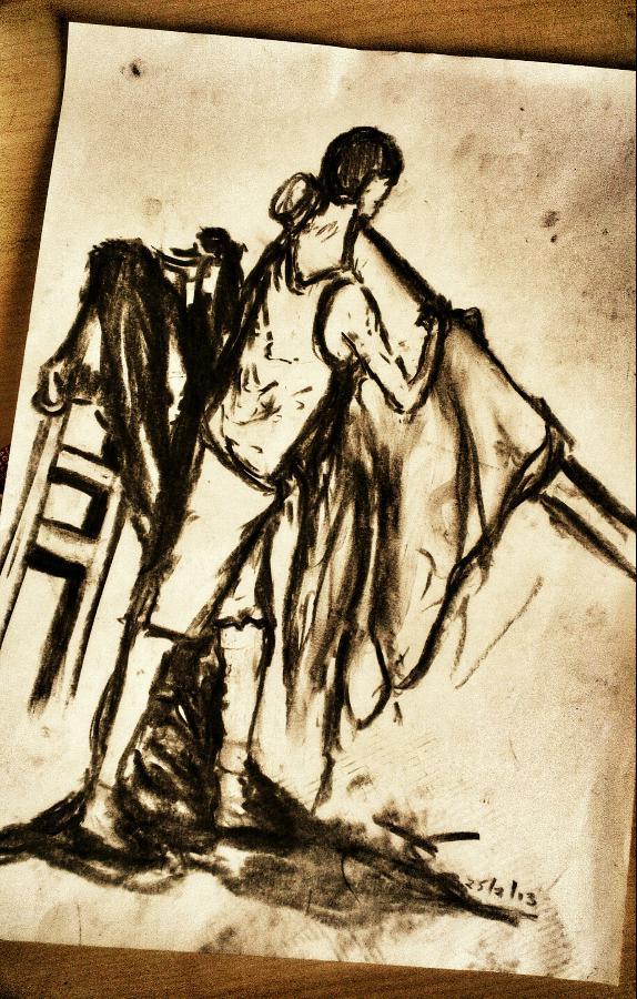 figure drawing practice