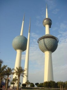 Kuwait Towers (Image courtesy: Wikimedia Commons)