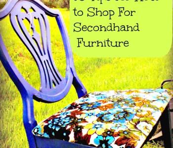 tips on saving on furniture