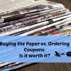 buying papers vs ordering coupons