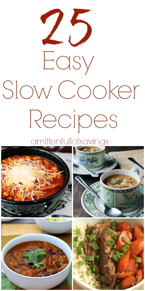 Find simple, comforting slow-cooker recipes for soups, stews, meats and even desserts in your trusty Crock Pot®. This versatile appliance makes weeknight dinners a snap.