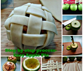 easy apple pie step by step process