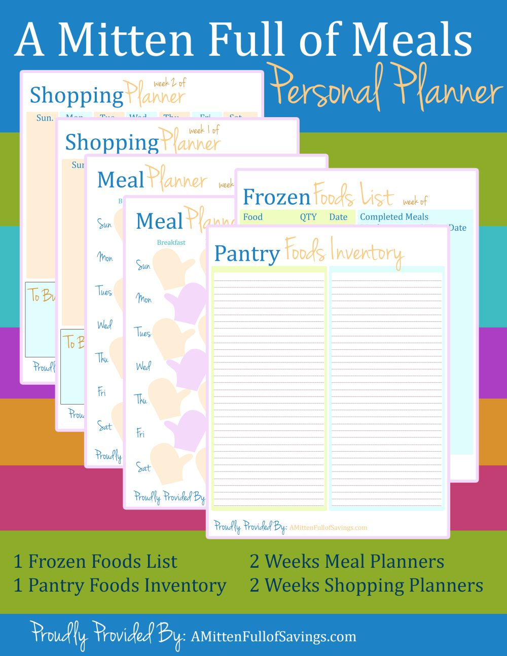 grocery budget planner